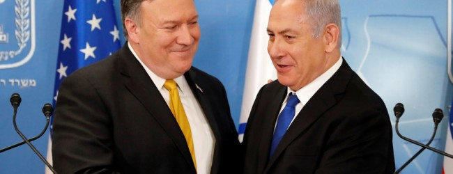 """Pompeo says : """"deeply concerned about Iran's dangerous escalation of threats to Israel & the region, & Iran's ambition to dominate the Middle East,  'fix it' or let it die"""