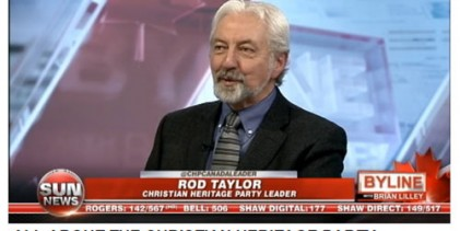 Rod Taylor : CHP Church of the Latter Day Apocalyptics of Global Warming Warns Radical Environmentalism