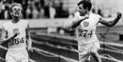 Chariots of Fire : fact-based story of two athletes in the 1924 Olympics: Eric Liddell, a devout Scottish Christian who runs for the glory of God; overcome prejudice.