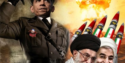 "Iran : Threatens To ""Annihilate"" Israel ""Our Hands Are On The Trigger"""