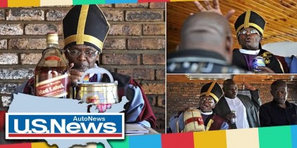 Holy Ghost : New South African Church Celebrates Drinking Alcohol Chase Away Evil Spirits.