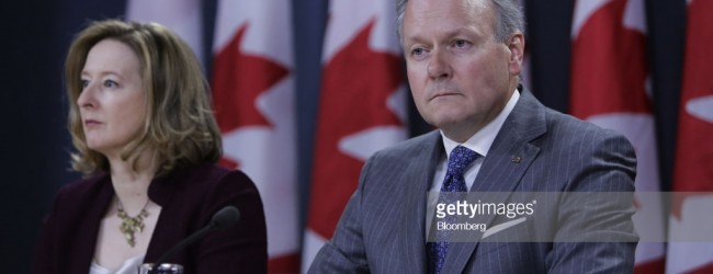 Bank of Canada governor says the bank has concerns over households' ability to pay down high levels of debt when interest rates continue their rise