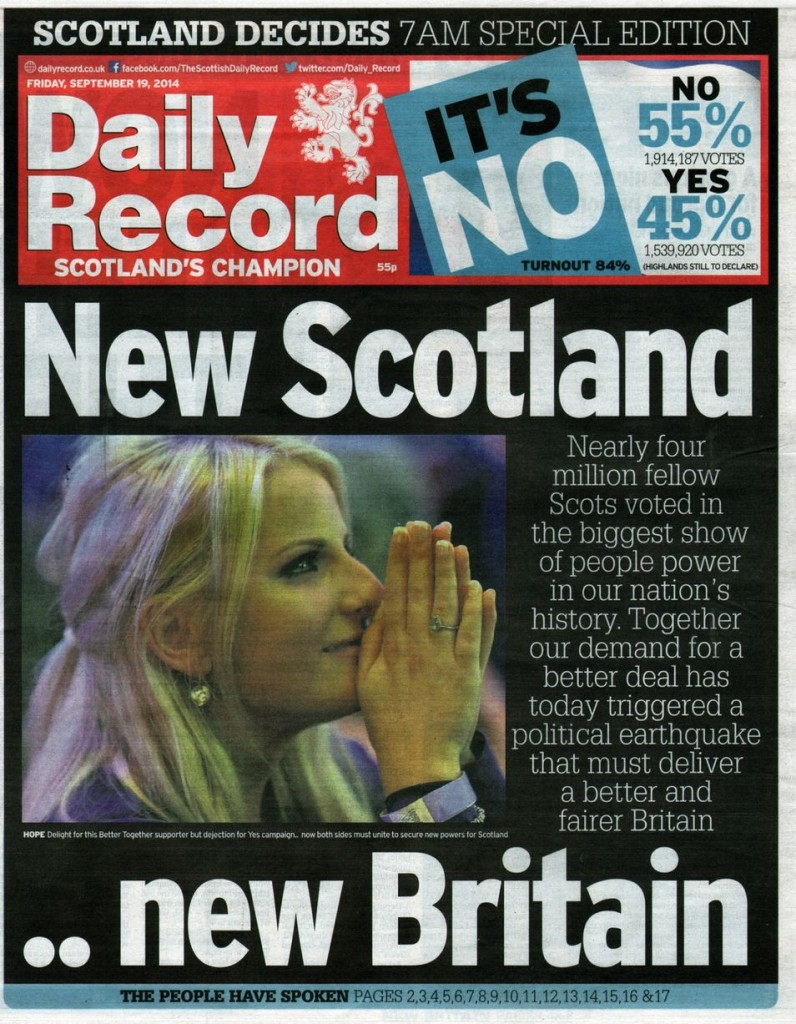 Daily-Record-Front-Page