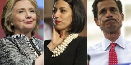 Hillary Clinton : Huma Abedin Helped Harvey Weinstein's Wife Cope With Scandal..It's Complicated :(