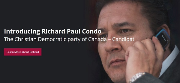 Richard P. Condo sets his sight on the 2018 Quebec elections, with no chances of winning, no possible way to avoid a past filled with questionable deeds, he decides to try the impossible.