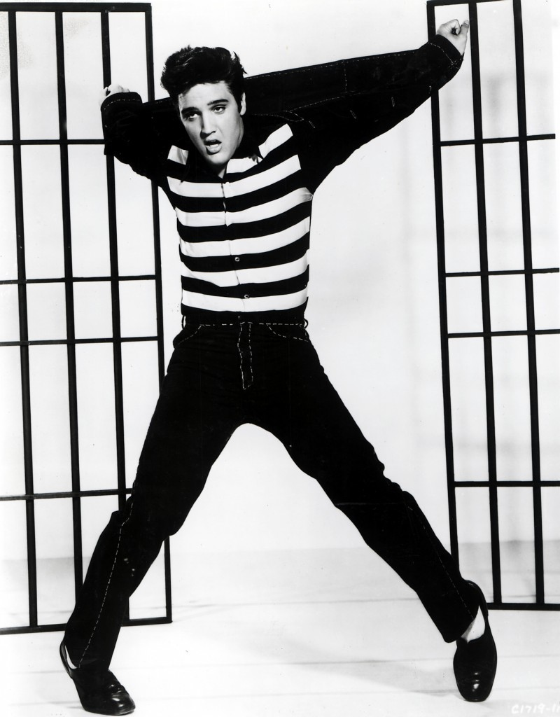 No Merchandising. Editorial Use Only. No Book Cover Usage. Mandatory Credit: Photo by Moviestore/REX/Shutterstock (1569365a) Jailhouse Rock, Elvis Presley Film and Television