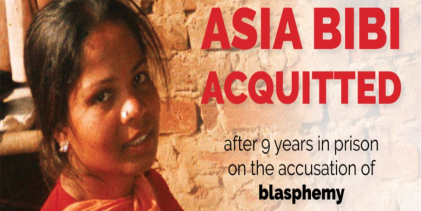 Gatestone Institute : The West Must Offer Immediate Asylum to Asia Bibi